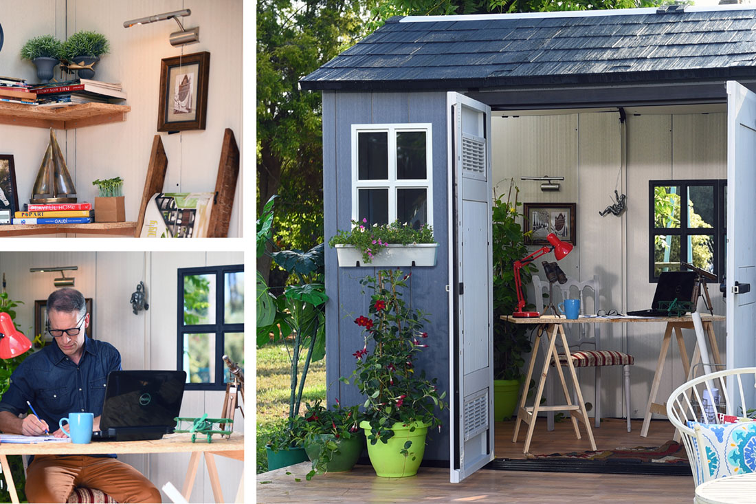 Oakland home office shed