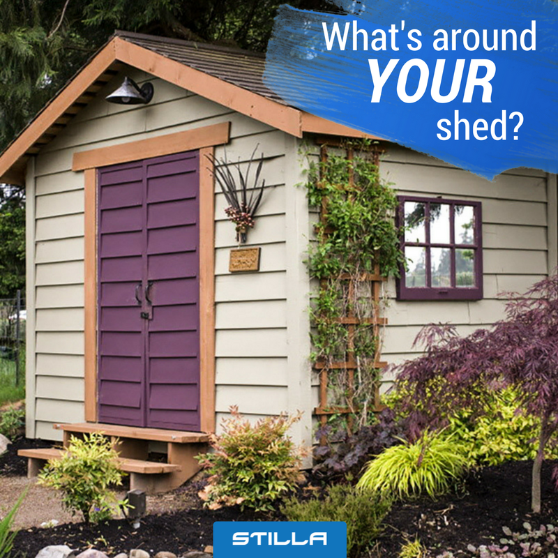 Spruce Up Your Backyard With A Shed And Landscaping