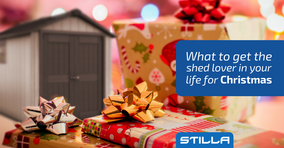shed as a Christmas gift