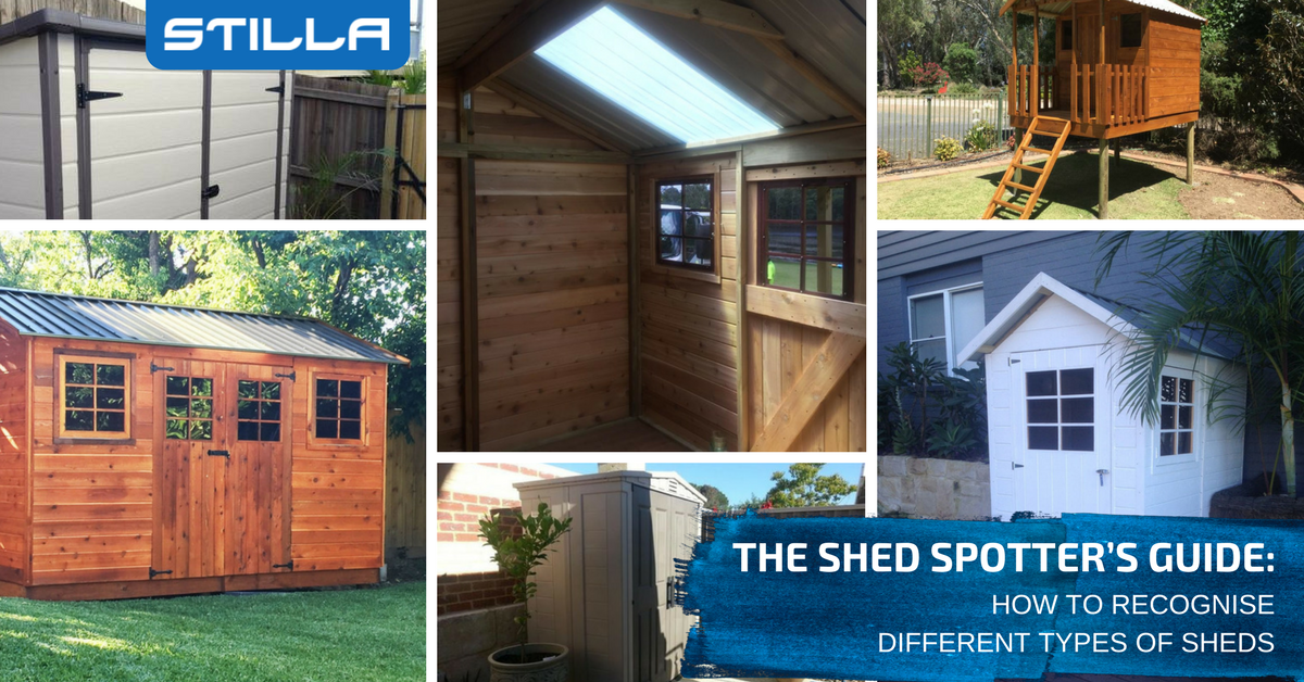 The Shed Spotteru0027s Guide: How To Recognise Different Types Of Sheds | STILLA