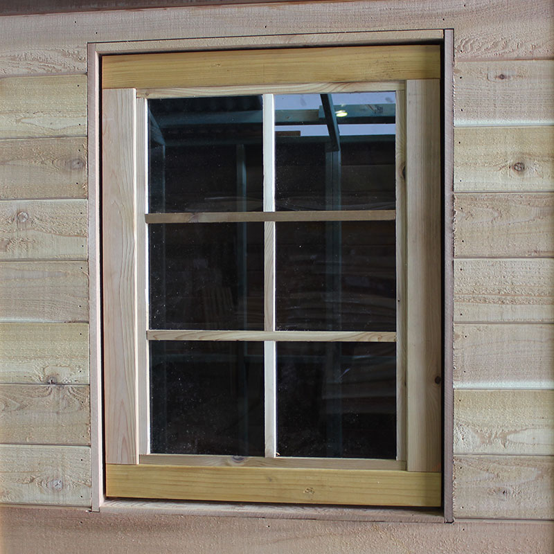 2 x Opening Colonial Style Windows