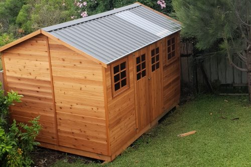 Willow garden shed
