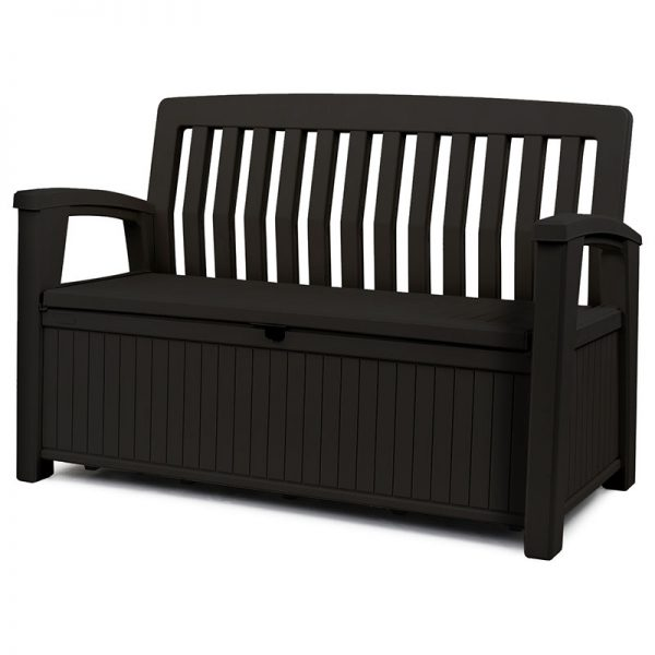 Patio storage bench
