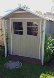 Painted Custom Shed